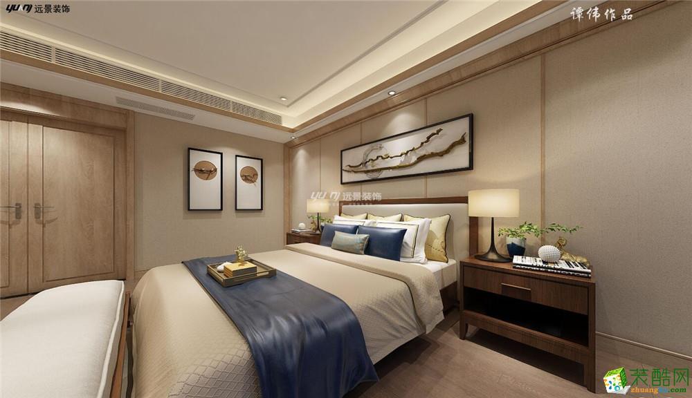 床头背景墙 【国奥村】-新中式风格(基装)