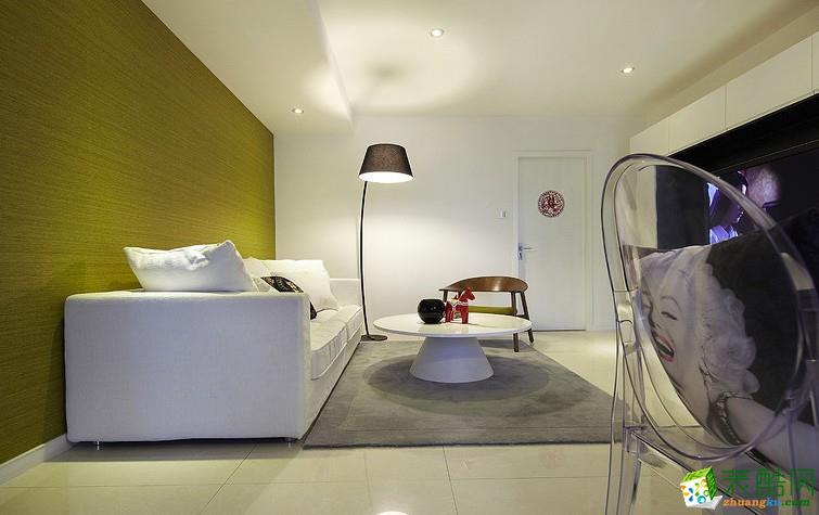 长沙千思装饰-简欧两居室装修效果图