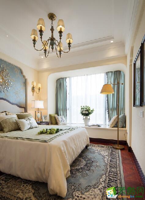 【优木家装饰】美式三居室130平米装修案例