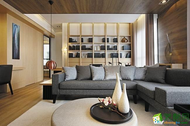 西安悦装网装饰-现代三居室装修效果图