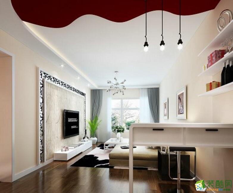 【�B鸿居装饰】现代风格两居室装修案例