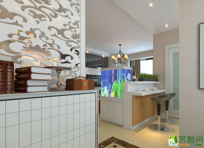 【�B鸿居装饰】现代两居室80平米装修案例图
