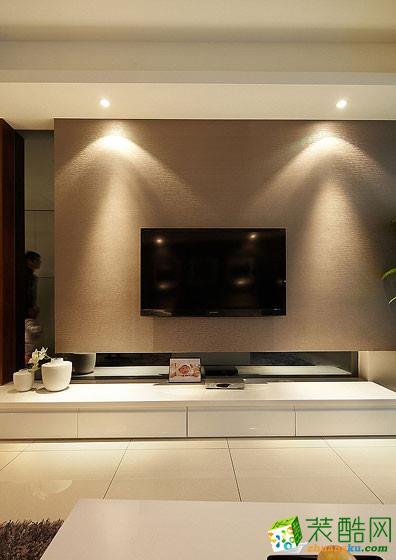 长沙雅筑装饰-现代简约两居室装修效果图