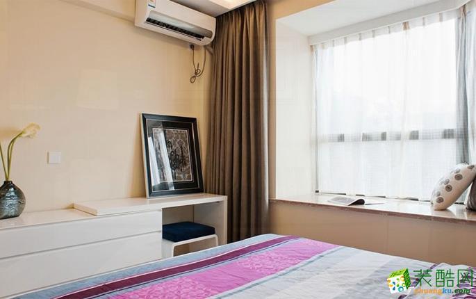 长沙天地和装饰-现代两居室装修效果图