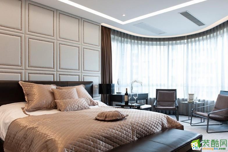 西安塞纳春天装饰-现代三居室装修效果图
