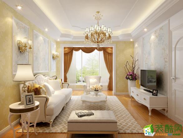 【美德装饰】两居室85平米装修案例