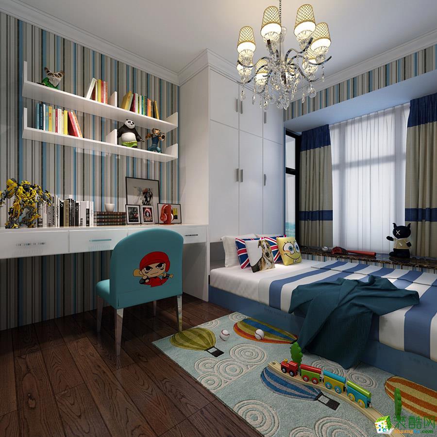 长沙喜居安装饰-欧式两居室装修效果图