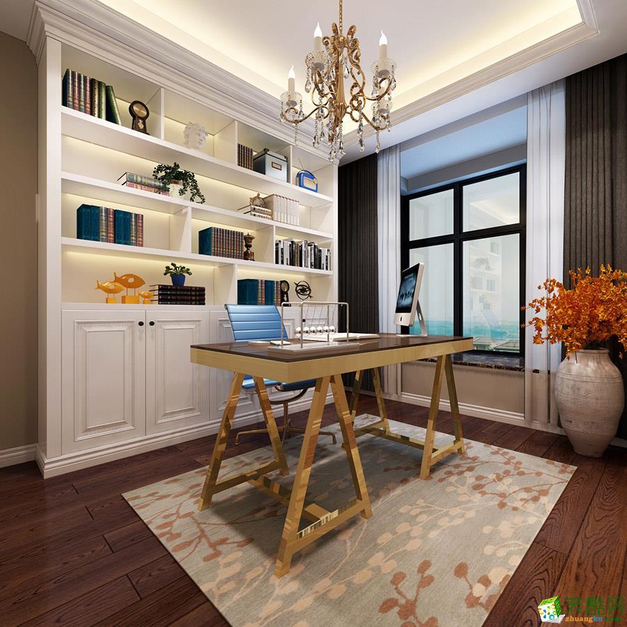 长沙喜居安装饰-现代简约三居室装修效果图