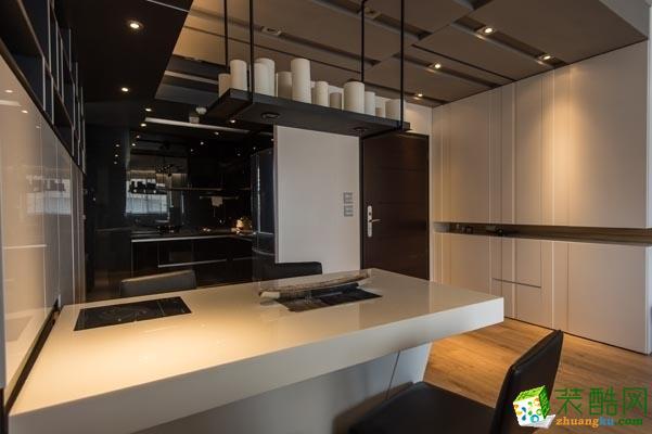 长沙�N远装饰-现代简约三居室装修效果图
