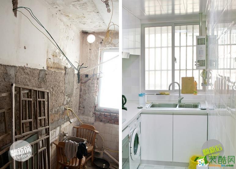 唤新家装饰—厨房翻新案例