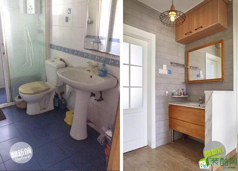 唤新家装饰—卫生间翻新