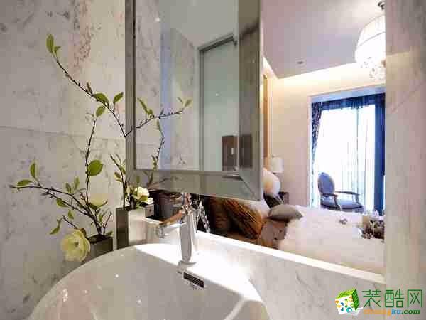 徐州喜客喜装饰-枫丹样板房-120平-欧式风格