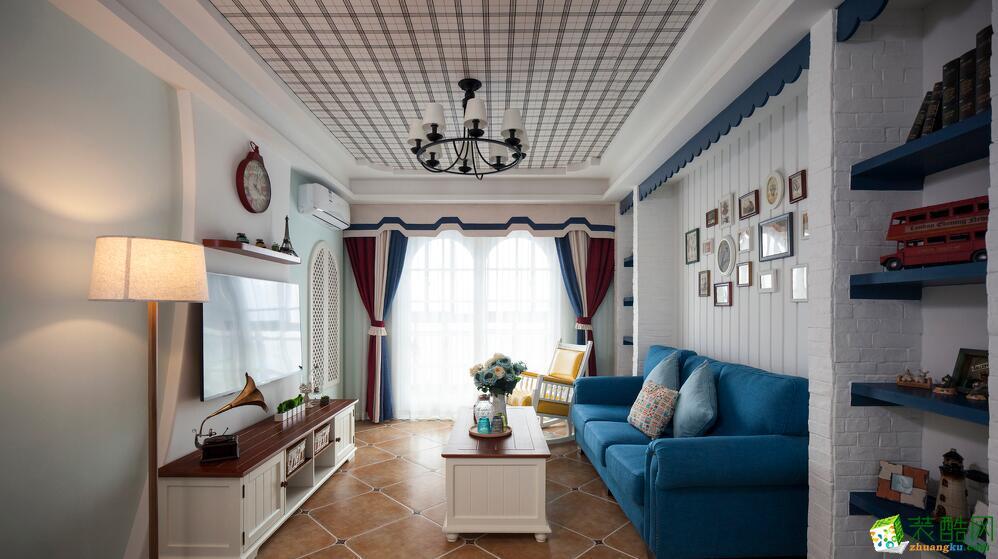 吉筑装饰-三室一厅一卫