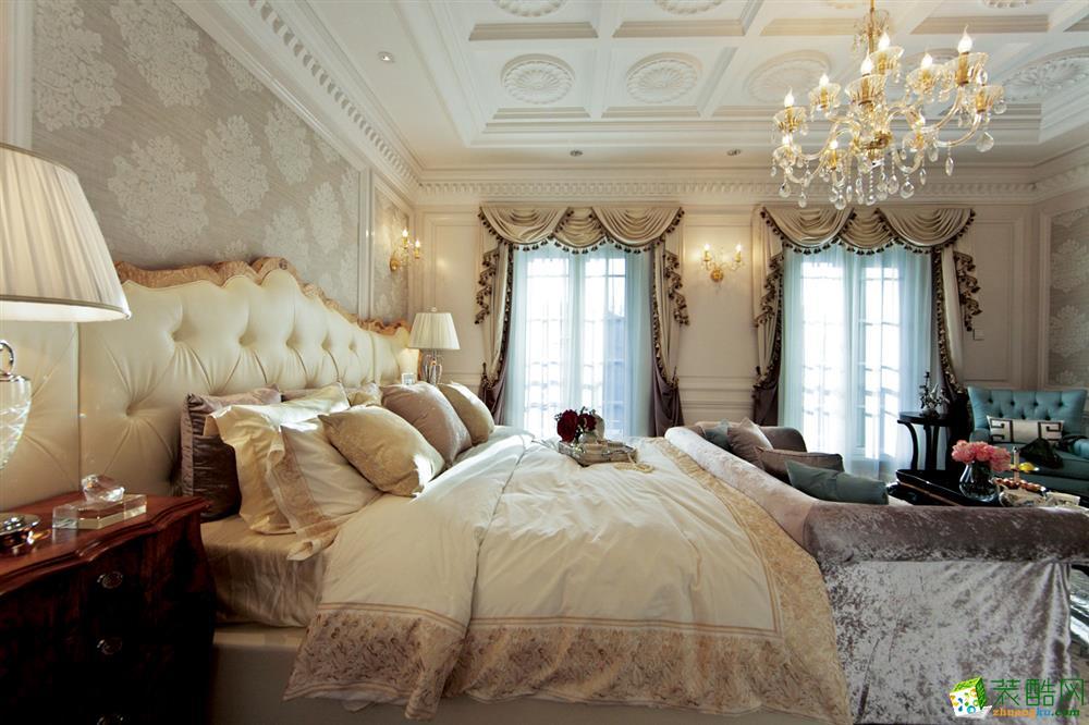 名星装饰―汉南碧桂园 高端别墅装修294平欧式风格