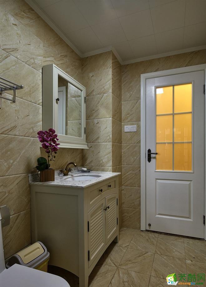 西安紫苹果装饰-现代简约两居室装修效果图