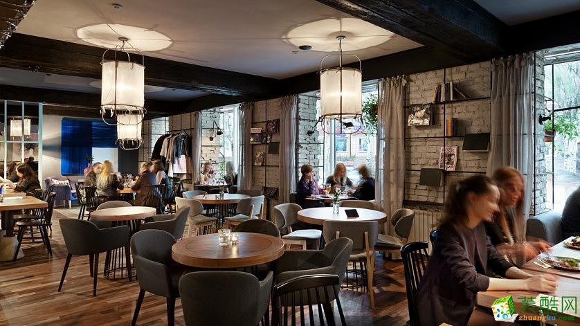 乌克兰Gastro 咖啡厅设计效果图
