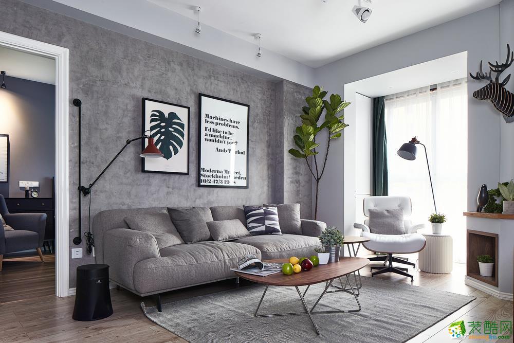西安创庭装饰-北欧两居室装修效果图