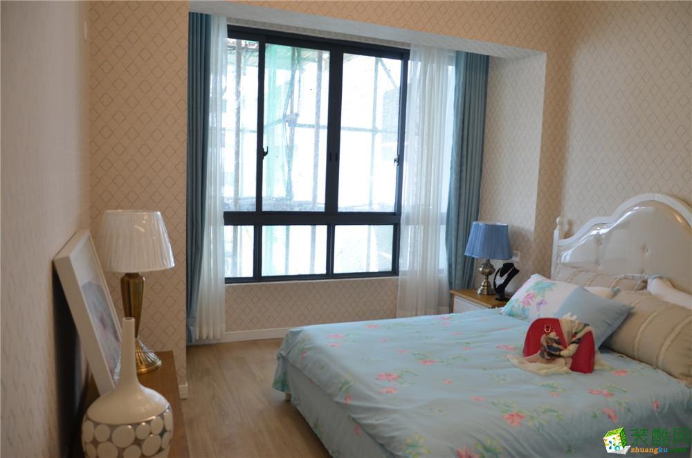 卧室  地中海风格三房样板间