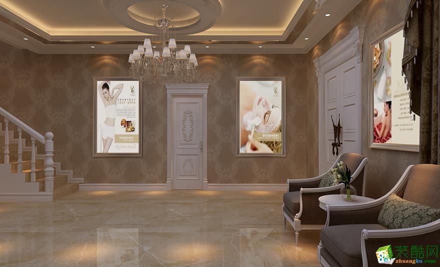 休闲区  美容院设计方案
