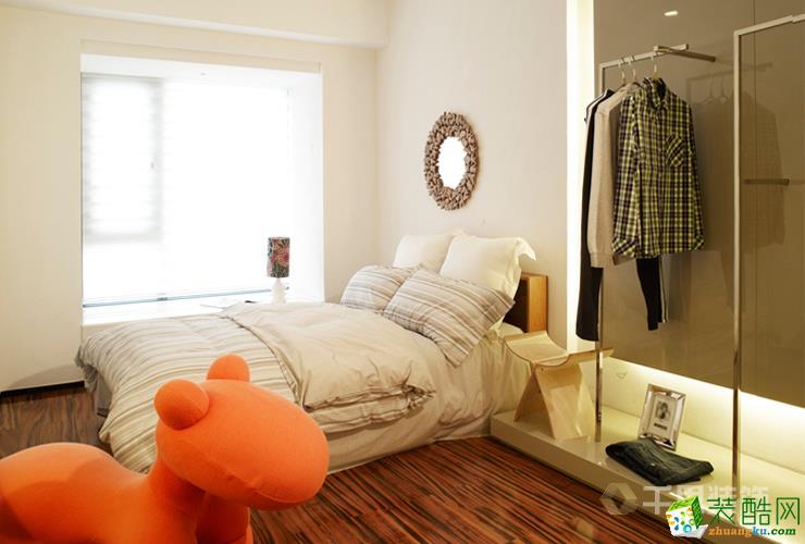长沙千思装饰-现代简约三居室装修效果图
