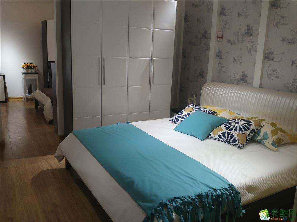 西安千百炼装饰-北欧风情三室两厅两卫效果图