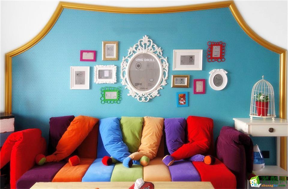 长沙名匠装饰-混搭两居室装修效果图