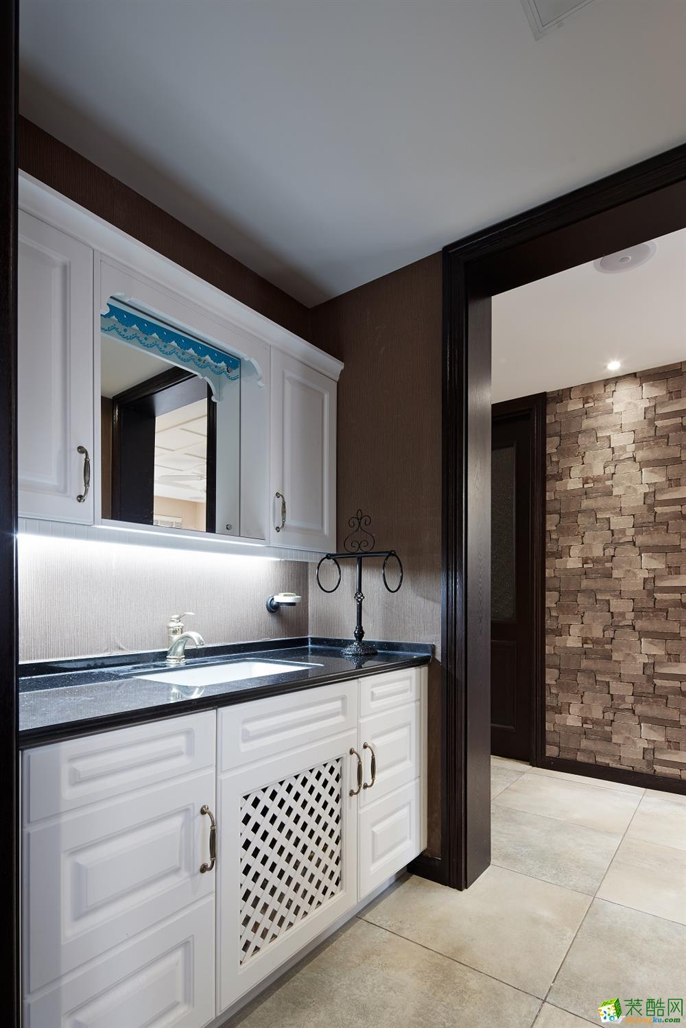 卫浴  吉筑装饰―酷酷的新中式