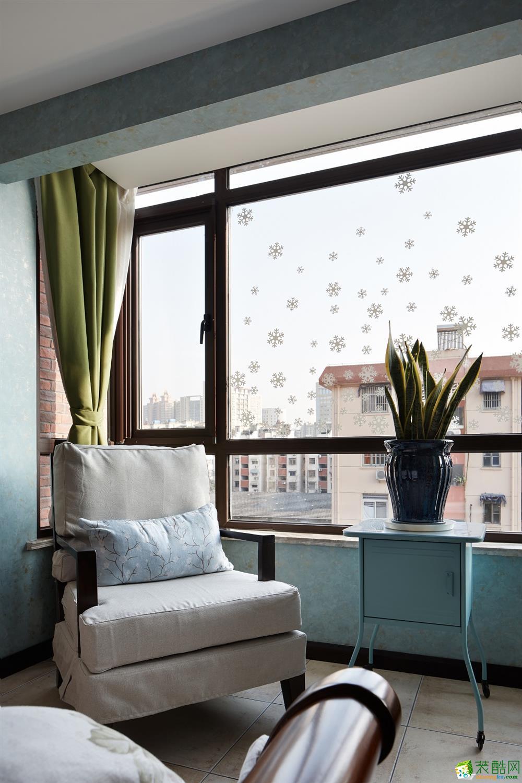 阳台  吉筑装饰―酷酷的新中式