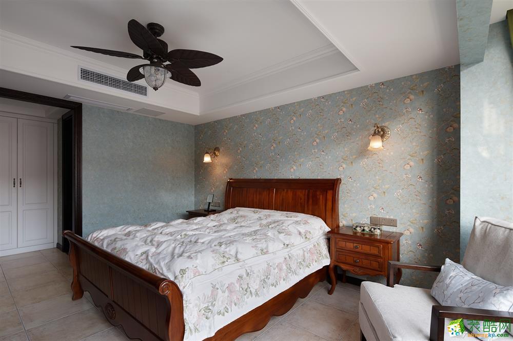 卧室  吉筑装饰―酷酷的新中式