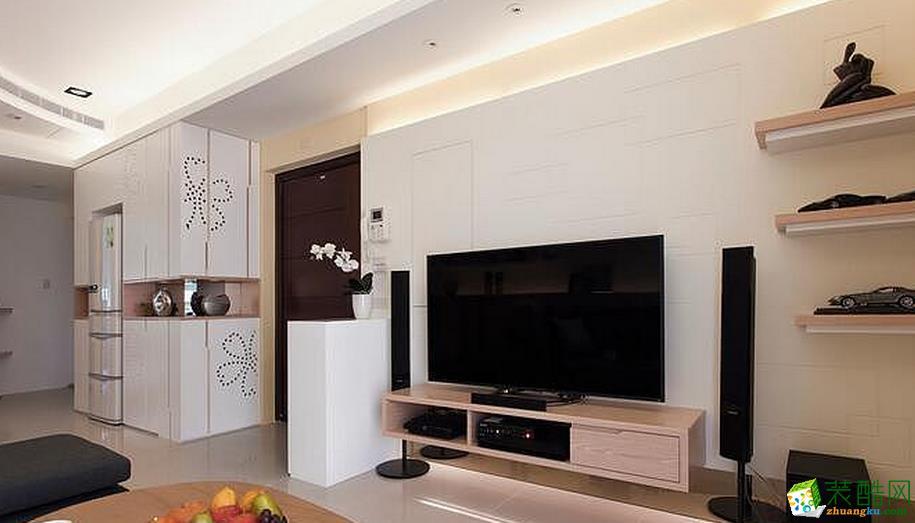 简约现代风格135平三居室装修效果图