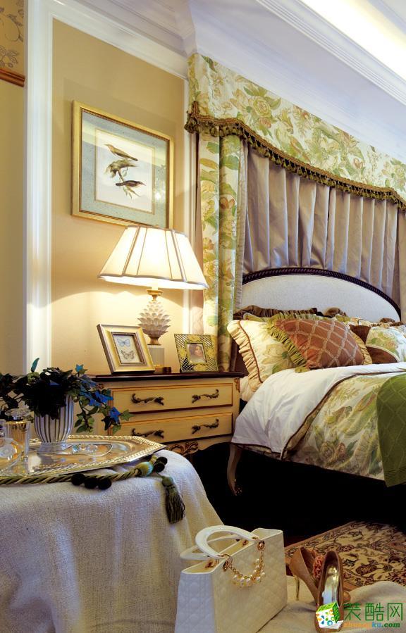 吉筑装饰―华丽的美式一居室