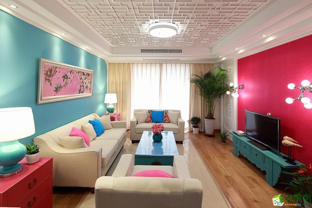 新古典简约二居装修设计案例