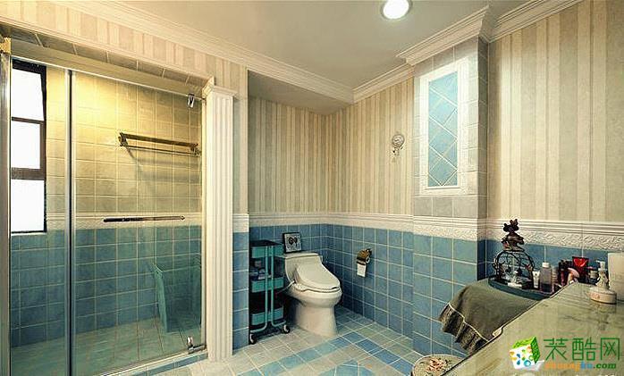 欧式浪漫二居装修效果图案例