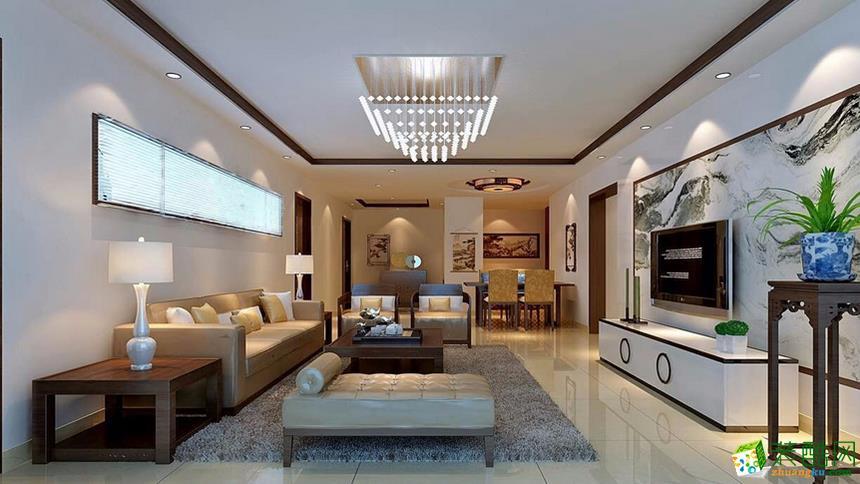 凤岭家园中式风格装饰效果图