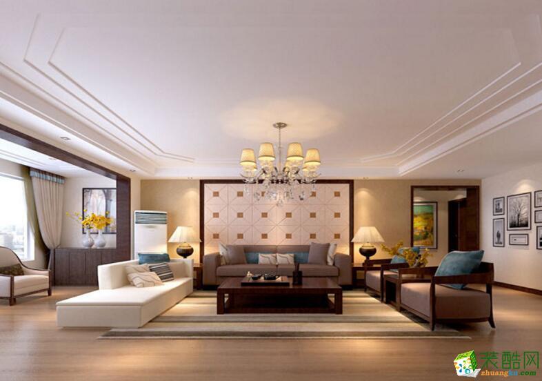 【天地和装饰】现代风格137平米三居室装修案例