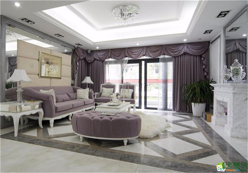 天地和装饰―龙湾城87�O欧式风格案例