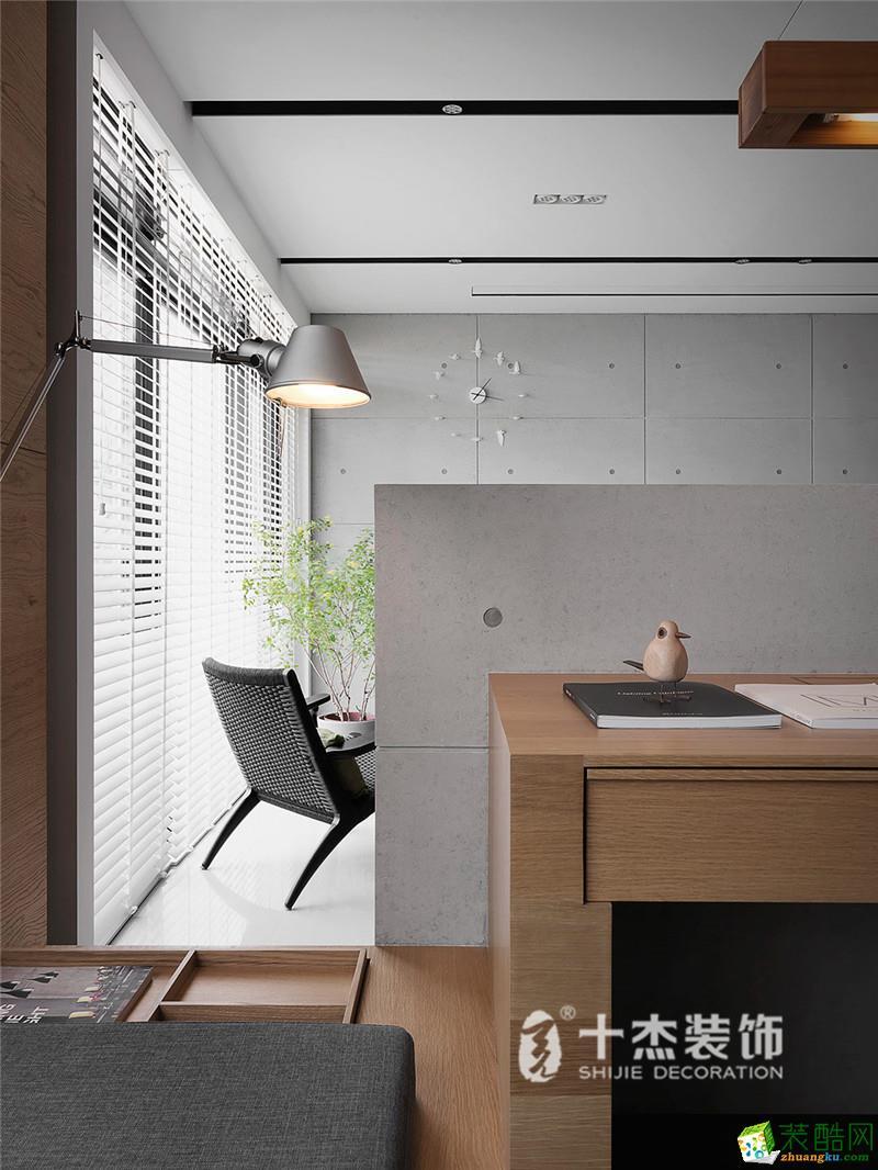 十杰装饰―旺角城80�O现代简约风格案例