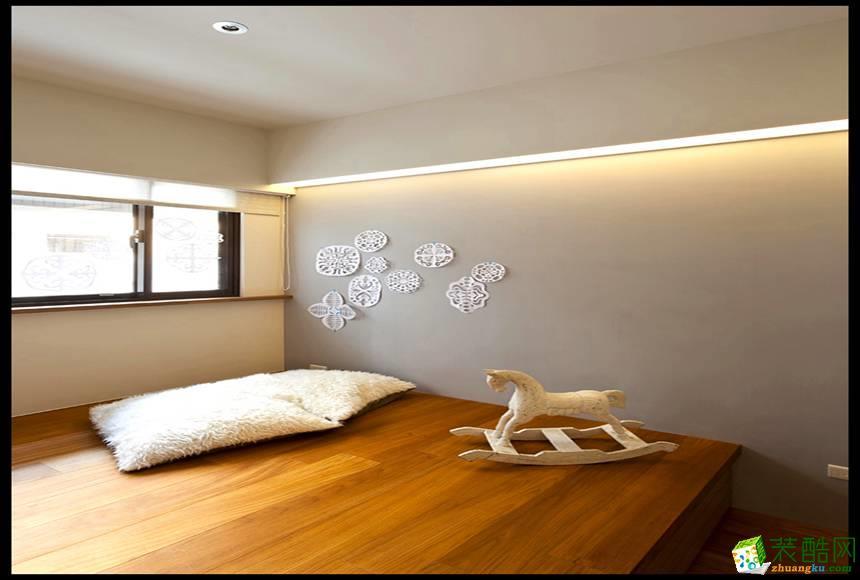 长沙天地和装饰-现代简约三居室装修效果图