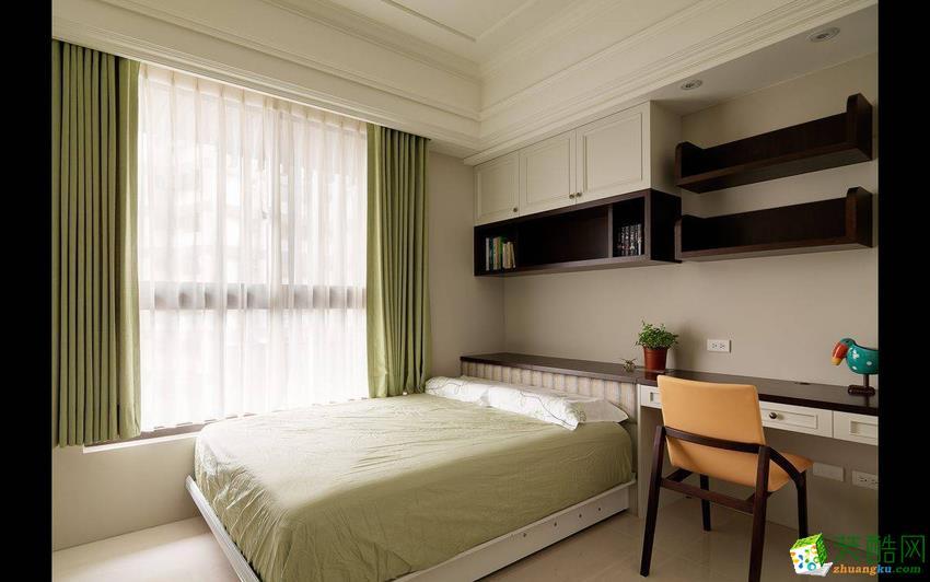 西安暖宅装饰-简约三居室装修效果图