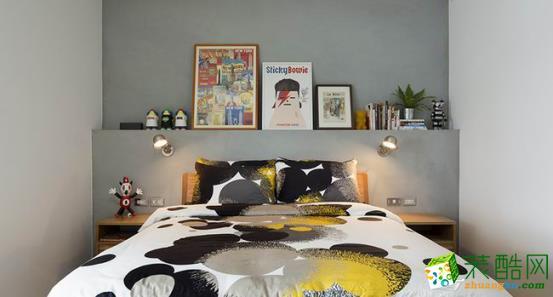 长沙喜居安装饰-现代三居室装修效果图