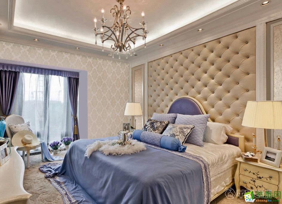 西安苹果装饰-欧式三居室装修效果图