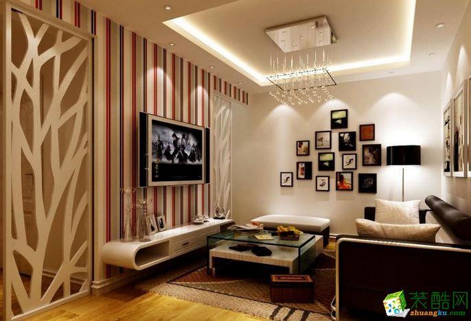 长沙华浔品味装饰-新中式两居室装修效果图