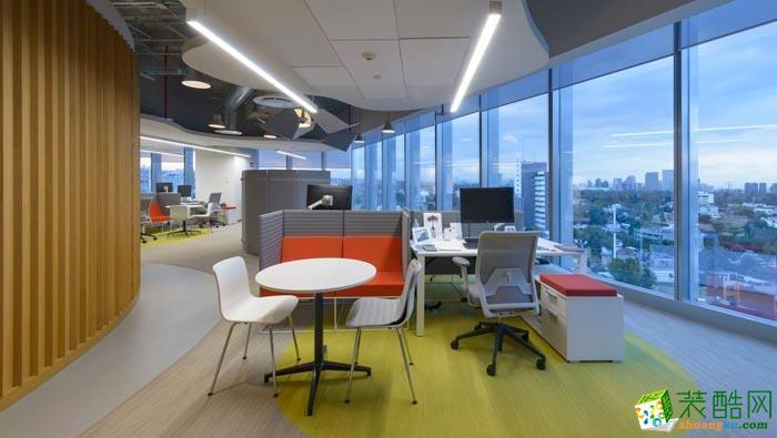 岚禾装饰―香料公司办公室装修设计案例