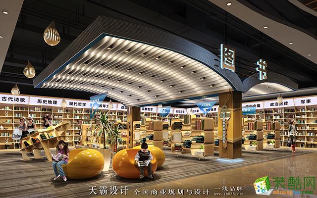 山東商場裝修設計效果圖廣東天霸設計作品與您分享