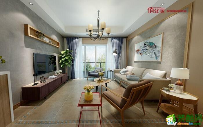 【俏业家】融创御锦 北欧风格 四居室装修