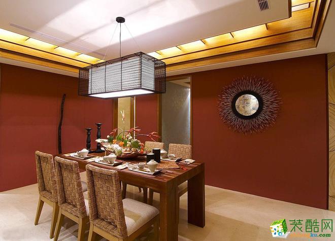 西安千百炼装饰-东南亚风格效果图