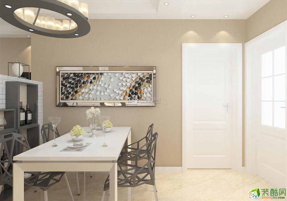 一号家居装饰―现代简约128平米三房二厅一卫简洁装修