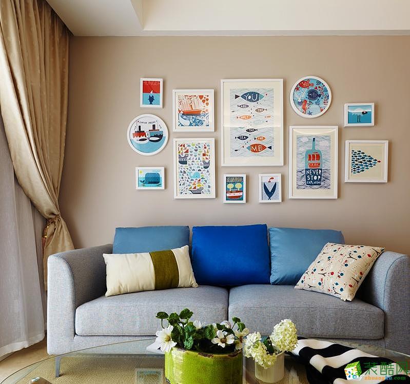 純凈北歐簡約二居室裝修效果圖