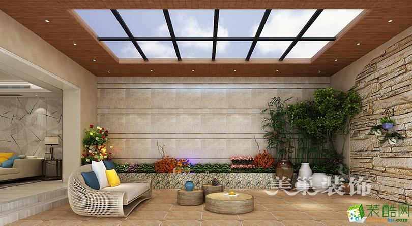 天伦庄园370平现代简约风格别墅装修效果图
