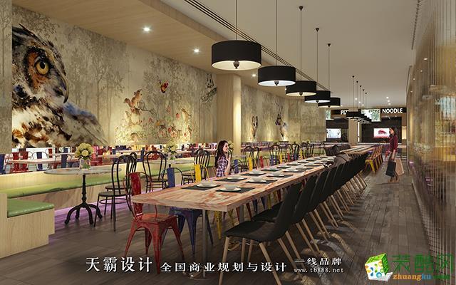 休闲区 天霸设计创作山西商场装修设计效果图落实到细节